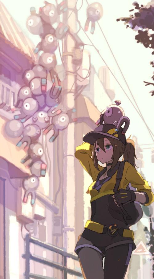 Pokemon_GO ポケモンGO 女性トレーナー かわいい 汗だく 画像 壁紙