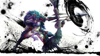 モンスターハンター monster hunter モンハン MH ナルガ ガンナー 弓 防具 武器 かっこいい 画像 壁紙