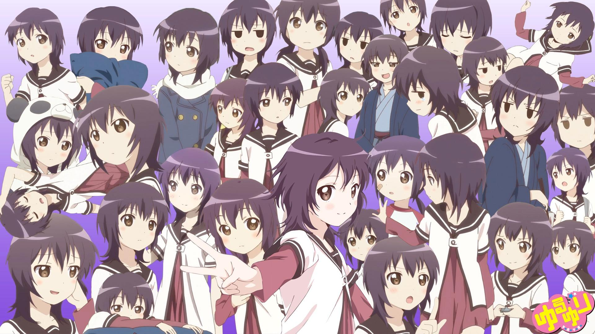 Anime Characters Named Yuri : ゆるゆり 壁紙 画像 【 枚】 次元画像壁紙収集所