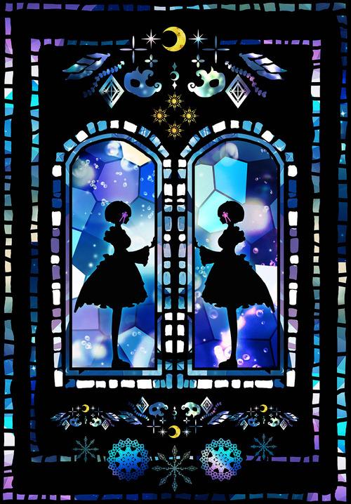 リゼロ レムラム かわいい・きれい 双子姉妹 目隠れ髪型 メイド服 Reゼロから始める異世界生活 イラスト 画像 壁紙