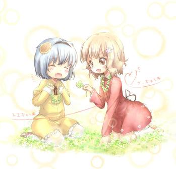ゆるゆり 大室櫻子 古谷向日葵 さくらこ ひまわり ロリ 画像 壁紙