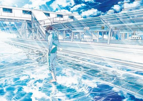 ハイキュー 駅に佇む及川徹 画像 高画質 壁紙