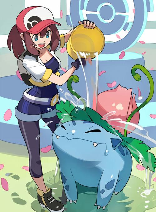 PokemonGO ポケモンGO 女トレーナー 女主人公 かわいい イラスト 画像 壁紙