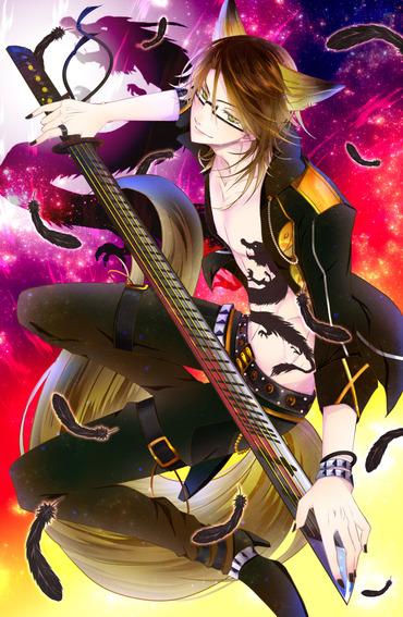 anime アニメ アプリ showbyrock!! show by rock sb69 ショウバイロック yaiba ヤイバ 故に pc スマホ 縦 画像 壁紙 cg イラスト