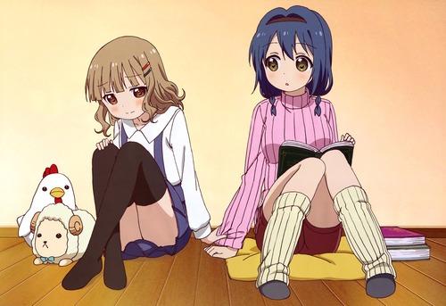 ゆるゆり さん☆ハイ! 大室櫻子 おおむろさくらこ 古谷向日葵 ふるたにひまわり 画像 壁紙