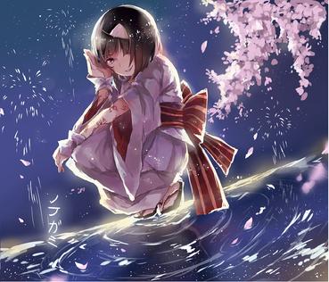 ノラガミ ARAGOTO ノラ 野良 きれい かわいい 桜 画像 PC スマホ 壁紙 待ち受け