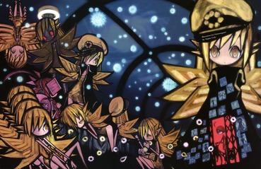 物語シリーズ 忍野忍 おしのしのぶ キスショット・アセロラオリオン・ハートアンダーブレード デフォルメ 画像 壁紙