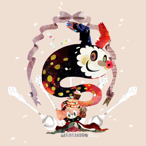 魔法少女まどかマギカ まどマギ お菓子の魔女 シャルロッテ 画像 壁紙