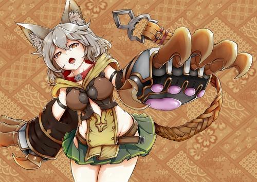 granblue_fantasy グランブルーファンタジー(グラブル) 猫娘 セン かわいい ねこみみ 画像 壁紙