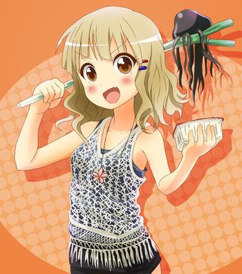 ゆるゆり 大室櫻子 さくらこ 料理 キャミソール 画像 壁紙