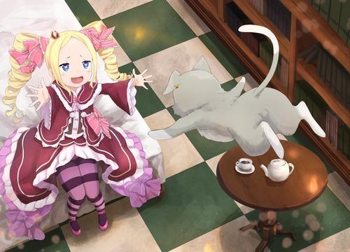 rezero リゼロ Reゼロから始める異世界生活 ベアトリス・ベア子・ベティー 金髪ツインテール ドリル 幼女・ロリ 1821 1312 画像・壁紙