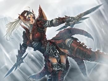 モンスターハンター monster hunter モンハン MH レウス 防具 画像 壁紙