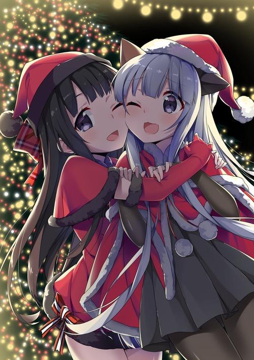 冬 クリスマスな女の子の可愛い画像・壁紙
