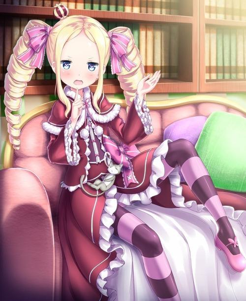 rezero リゼロ Reゼロから始める異世界生活 ベアトリス・ベア子・ベティー 金髪ツインテール ドリル 幼女・ロリ 875 1070 画像・壁紙