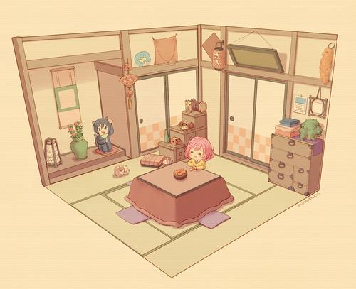 07 ノラガミ 小福の部屋 画像 壁紙