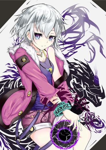 アニメ スマホ アプリ ディバインゲート divine gate カナン ロリ 銀髪 縦 画像 壁紙