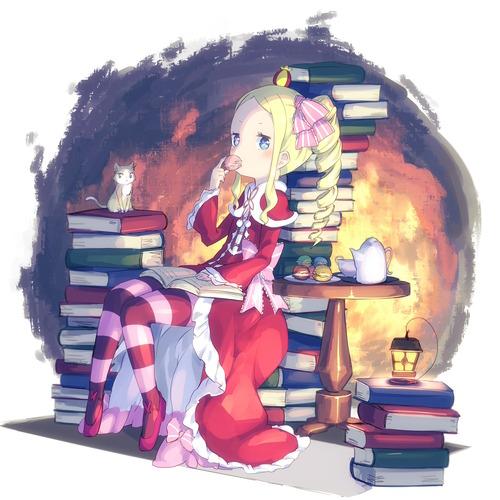 re:zero リゼロ Reゼロから始める異世界生活 ベアトリス・ベア子・ベティー 金髪ツインテール ドリル 幼女・ロリ 1500 画像・壁紙