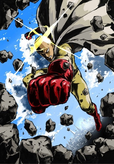 ワンパンマン one_punch_man saitama サイタマ pc スマホ 縦長 画像 壁紙
