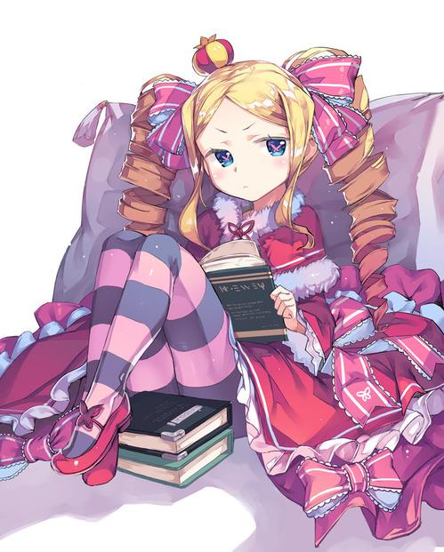 rezero リゼロ Reゼロから始める異世界生活 ベアトリス・ベア子・ベティー 金髪ツインテール ドリル 幼女・ロリ 900 1119 画像・壁紙