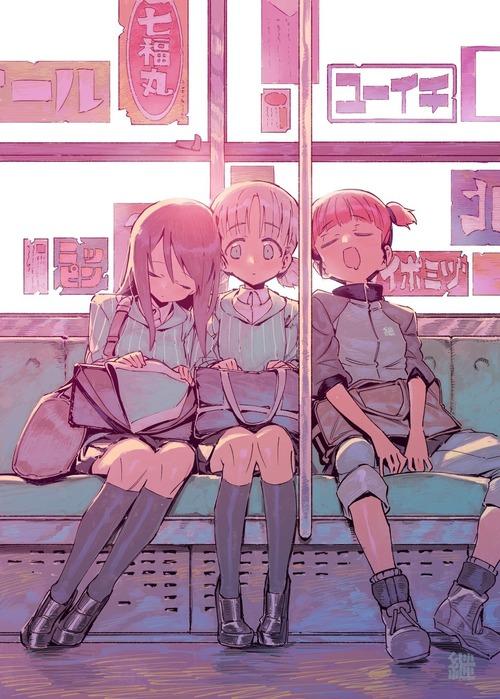 girls_und_panzer ガールズ&パンツァー ガルパン 劇場版 ミカ アキ ミッコ 継続高校 画像 壁紙