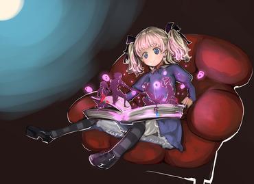 ゲーム psv playstation_vita psp オーディンスフィア 本を読むアリス 画像 壁紙
