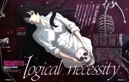 櫻子さんの足元には死体が埋まっている ドクロを持っている九条櫻子 画像 壁紙