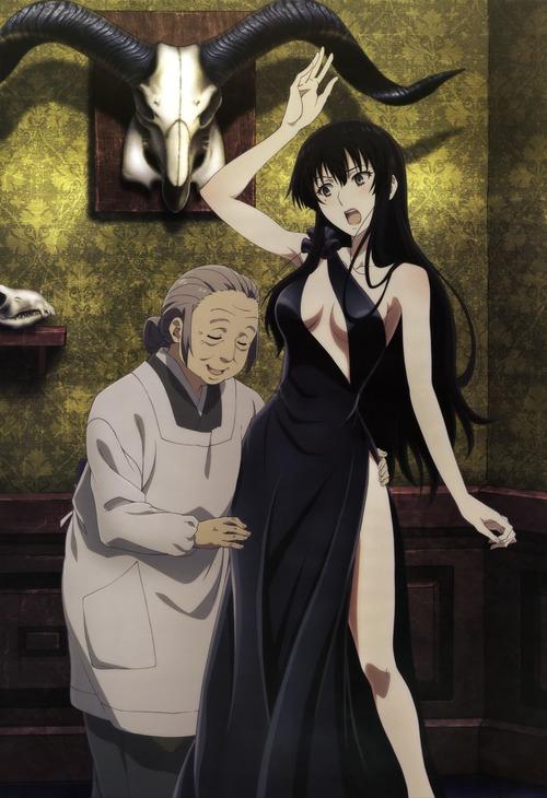櫻子さんの足元には死体が埋まっている きわどいドレス姿の九条櫻子 くじょうさくらこ エロ 画像 壁紙