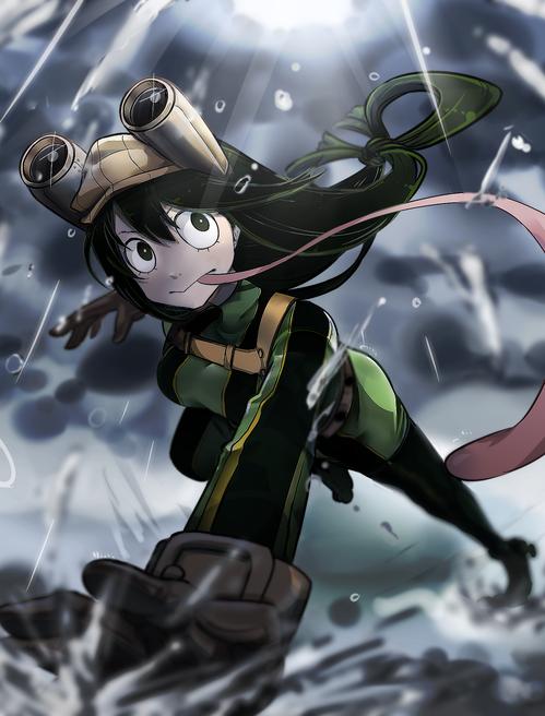僕のヒーローアカデミア(僕アカ) 蛙吹梅雨(あすいつゆ) つゆちゃん 画像 壁紙