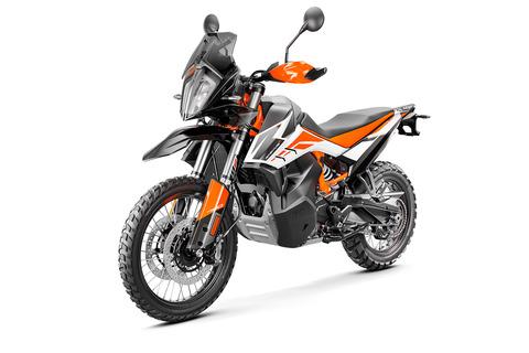 KTMの新型790 Adventure/Adventu...