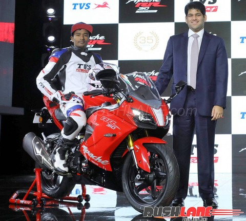 tvs-apache-rr-310-red-launch