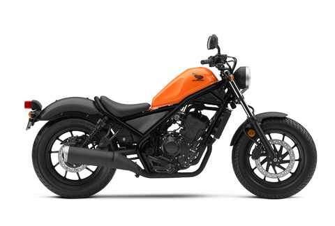 19_Honda_Rebel_300_RHP_Candy_Orange