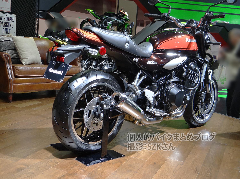 個人的バイクまとめブログZ900RS【5/31】2019年モデルのZ900RSは火の玉カラー継続、発売日は7月1日と正式発表されたよドレミコレクションのZ900RS J-StyleとZ900RS Mk.2-Styleの写真【3/7】Z900も日本国内正規販売決定。価格、発売日、カラーもわかってるよ【2/1】2018年モデルのカワサキの新型、Z900RS CAFE(カフェ)のスペックとか画像等【更新】日本仕様っぽいZ900RSカフェ/Ninja250/Ninja400/Ninja H2 SX SEの動画あるよ。排気音も。カナダとイギリスでのNinja H2 SX/SE、Z900RSカフェ、Ninja400の正式価格出たよ。日本価格も予想したよ。カワサキがEICMA2017のティーザーを公開。新型は3モデル、H2 SXとZ900RSカフェとか居るみたい【11/19更新】2018年モデルの新型、Z900RSのスペック/発売日/画像/PV/Z900と比較等まとめ