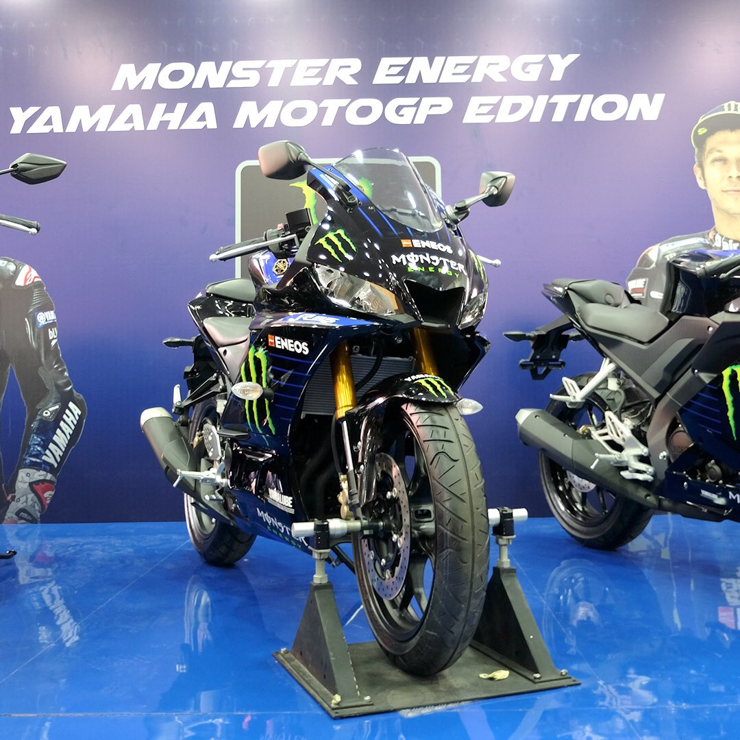新型yzf R25のmonster Energy Yamaha Motogp Editionが発表 その他