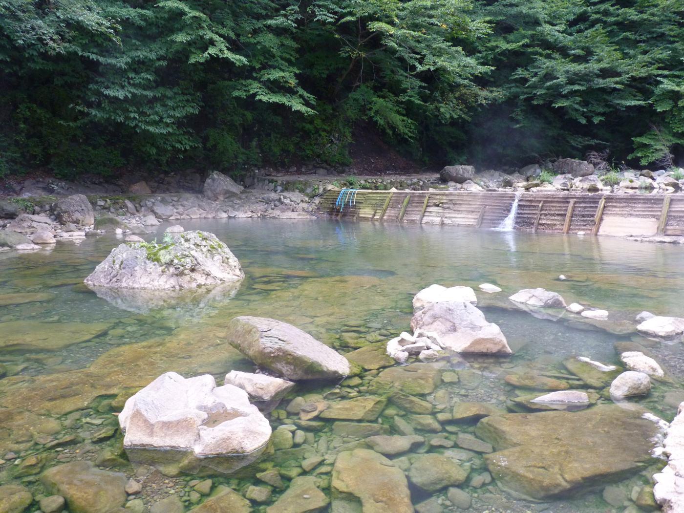 ... : 尻焼温泉 河原野天風呂