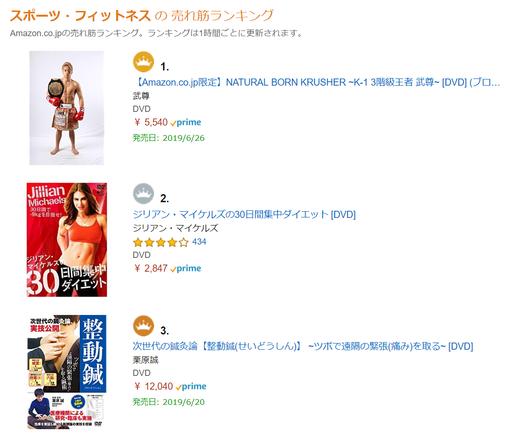 整動鍼DVD 3位
