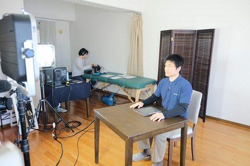 整動鍼DVD撮影現場01
