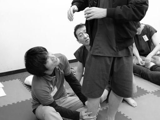 整動鍼脊柱編セミナー(ツボ押しで動きが変わる)