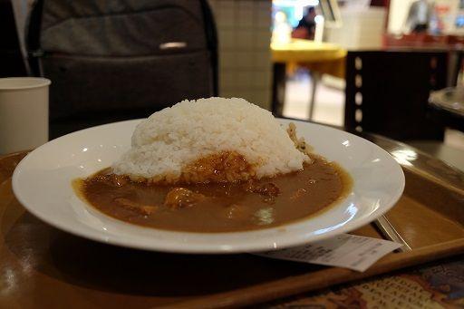 羽田空港で食べたカレー