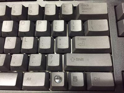 英語ASCIIキーボードのEnterキー