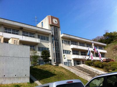 避難所(江名小学校)