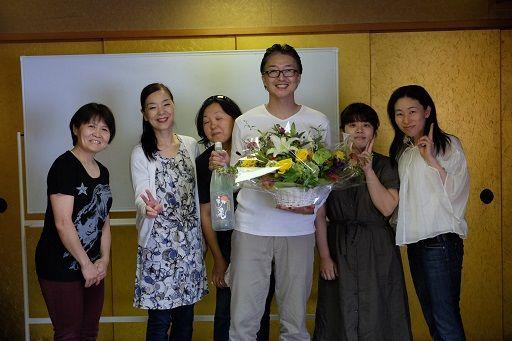 橋本代表の卒業