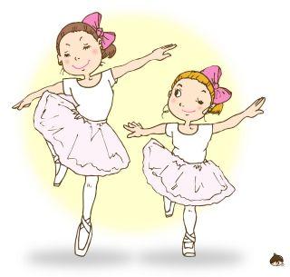 バレエの女の子