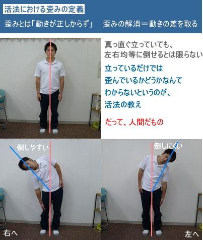 活法における歪みの定義(前)