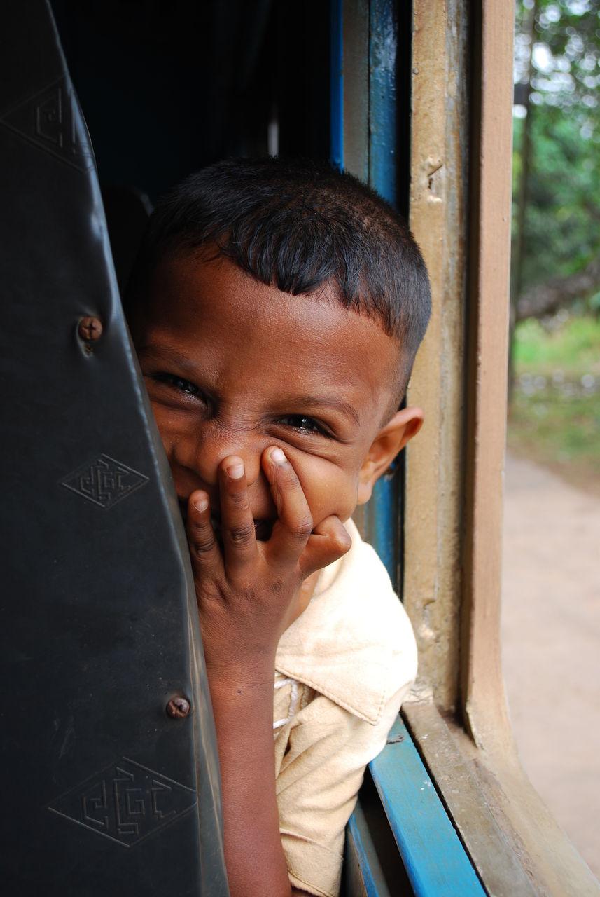 スリランカ少年