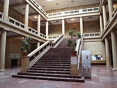 ミュンヘン音楽大学校舎内の様子