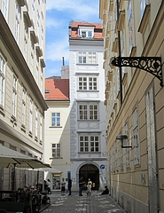 『ウィーンにあるモーツァルトハウス』