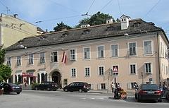 モーツァルトの住居(舞踏教師の家)