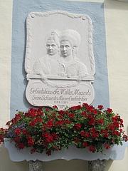 『モーツァルトの母と姉』