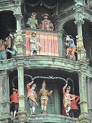 ミュンヘン市庁舎の時計台