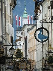 ザルツブルクの旧市街